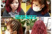 Pink & Cornrows★