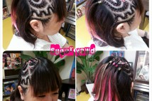 Side Design Cornrows★