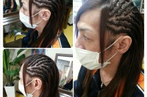 Side Cornrows★