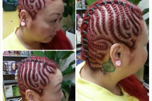 Coloring & Cornrows★